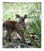 Cumberland Island Deer Fleece Blanket
