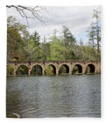 Cumberland Mountain State Park Fleece Blanket