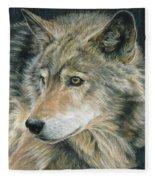 Curious Eyes Fleece Blanket