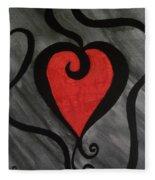 Curly Lou Fleece Blanket