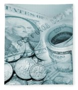 Currency Fleece Blanket