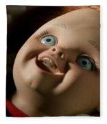 Curse Of Chucky Fleece Blanket