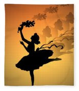 Curtain Call Fleece Blanket