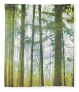 Curtain Of Morning Light Fleece Blanket