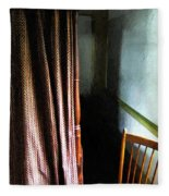 Curtains Closed Fleece Blanket