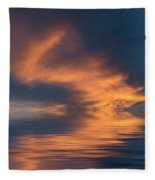 Curved Fleece Blanket