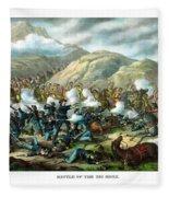 Custer's Last Stand Fleece Blanket