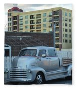 Custom Chevy Asbury Park Nj Fleece Blanket