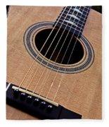 Custom Made Guitar Fleece Blanket