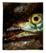 Cutlassfish Eyes Fleece Blanket