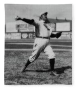Cy Young With The Boston Americans 1908 Fleece Blanket
