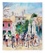 Cycling In Majorca 05 Fleece Blanket