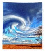 Cyclone Fleece Blanket