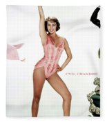 Cyd Charisse Fleece Blanket