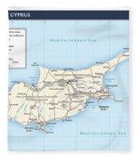 Cyprus 2 Fleece Blanket