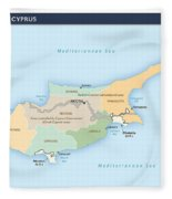 Cyprus Fleece Blanket