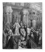 Cyrus Restoring The Vessels Fleece Blanket