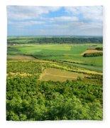 Czech Central Mountains Fleece Blanket