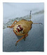 D2b6336-dc Colorful Insect On Sonoma Mountain Fleece Blanket
