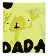 Dada Poster 1 Fleece Blanket
