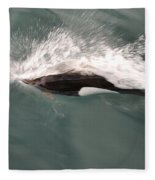Dahl Dolphin Fleece Blanket