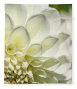 Dahlia Study 4 Fleece Blanket