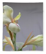 Dainty Orchid Fleece Blanket