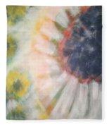 Daisies Garden Fleece Blanket