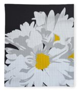 Daisy, Daisy How Does Your Garden Grow...... Fleece Blanket