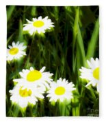 Daisy Dream Fleece Blanket