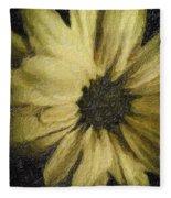 Daisy Luscious Fleece Blanket