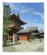 Daitokuji Zen Temple Complex - Kyoto Japan Fleece Blanket