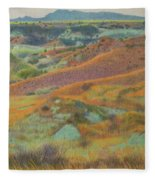 Dakota October Fleece Blanket