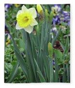 Dallas Daffodils 63 Fleece Blanket