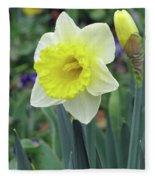 Dallas Daffodils 64 Fleece Blanket