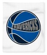 Dallas Mavericks Retro Shirt Fleece Blanket