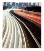 Dallas Morning Rush 122117 Fleece Blanket