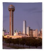 Dallas - Texas Fleece Blanket