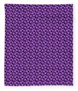 Dalmatian Pattern With A Black Background 30-p0173 Fleece Blanket