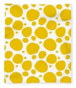 Dalmatian Pattern With A White Background 05-p0173 Fleece Blanket