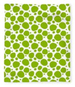 Dalmatian Pattern With A White Background 09-p0173 Fleece Blanket