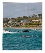 Dana Point 2 Fleece Blanket