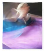 Dance Ballerina Fleece Blanket