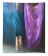 Jete Battu Fleece Blanket