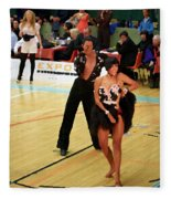Dance Contest Nr 02 Fleece Blanket
