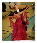 Dance Contest Nr 15 Fleece Blanket