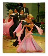 Dance Contest Nr 16 Fleece Blanket
