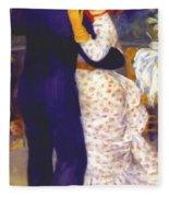 Dance In The Country 1883 1 Fleece Blanket