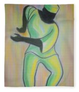 Dance Of Joy Fleece Blanket