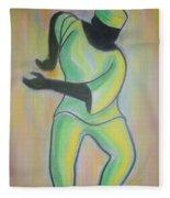 Dance Of Joy Fleece Blanket